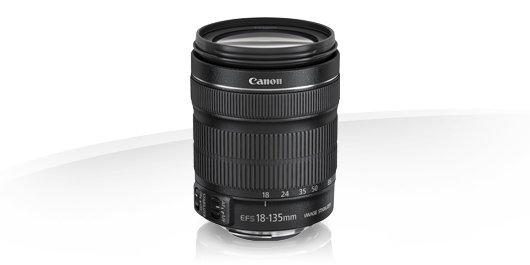 image objectif Canon 18-135 EF-S 18-135mm f/3.5-5.6 IS STM